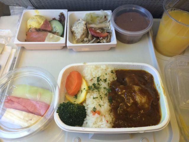 日航的飞机餐名副其实的好看+好吃噢