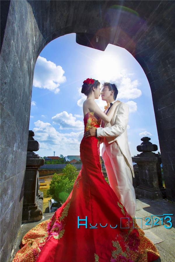 our`s巴厘岛婚纱照-一段见证爱情的蜜旅