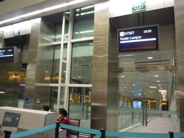 杭州萧山国际机场亚航航班登机口