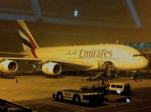 北京到迪拜飞机