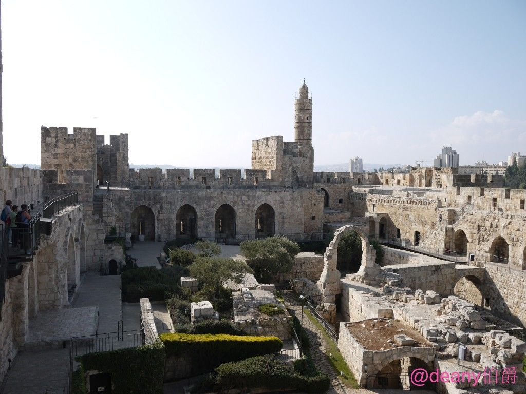 大卫城塔是耶路撒冷旧城的最高处
