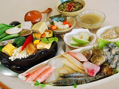 丹东海鲜涮锅
