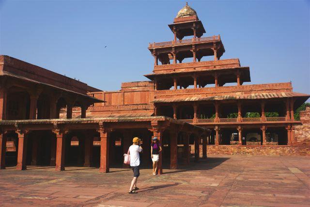 亚洲 印度 北方邦 阿格拉市 法特浦西格里古城 - 西部落叶 - 《西部落叶》· 余文博客