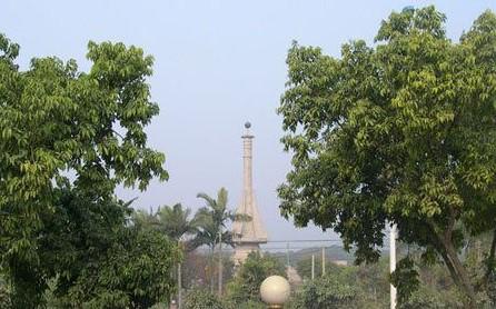 北回归线广州标志塔    -2