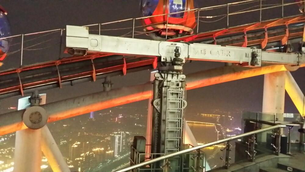 广州塔塔身主体450米(塔顶观光平台最高处454米)