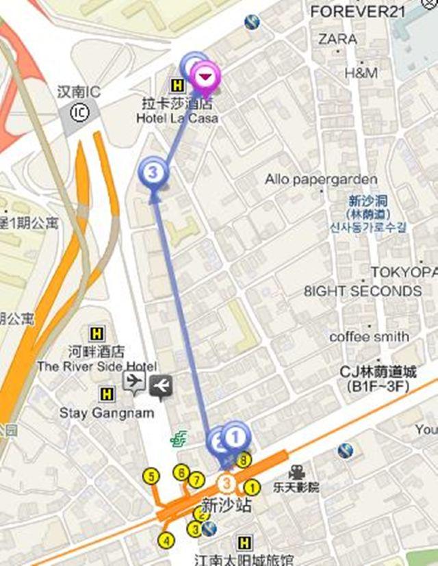 釜山地铁线路高清图