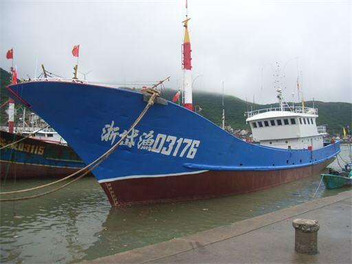 渔船结构分解图