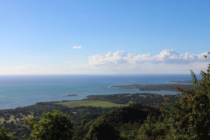 毛里求斯7日-蓝天白云高山大海的完美结合