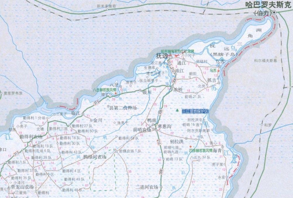 """俗称""""黑瞎子岛"""",也是中国的最东方"""