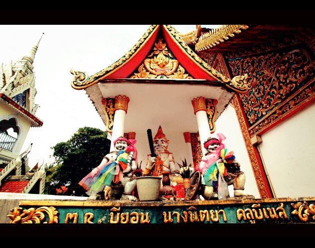 泰国南邦3日自由行,游览普拉多公木寺