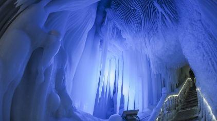 神奇的天然冰洞穴 摄影 王权