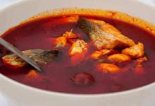 布达佩斯美食图片-鱼汤