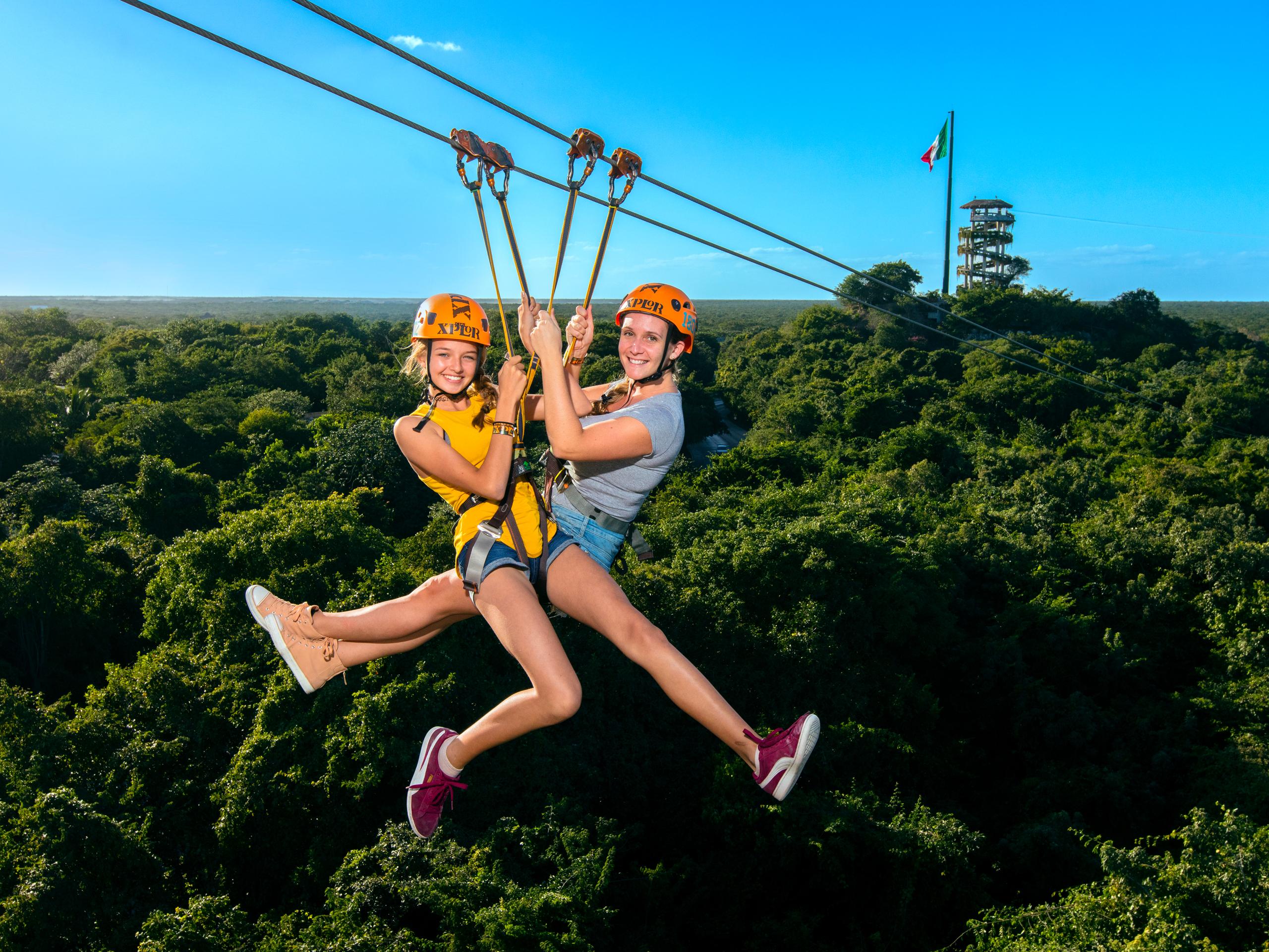 Xplore Cancun Park one – day tour
