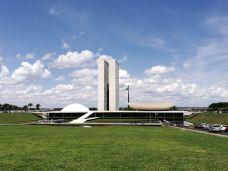 国会大厦-巴西利亚-栖霞风雨