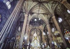 圣萨巴斯第安教堂-马尼拉-hiluoling