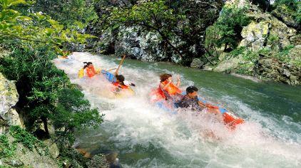 绿林山-鸳鸯溪漂流1