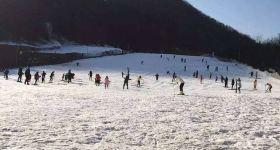 【周末不限时】维斯特滑雪场滑雪票+雪具(成人票)