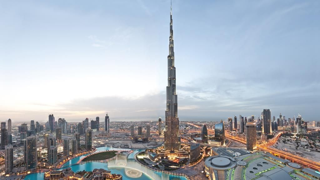 Burj Khalifa Tower Observation Deck