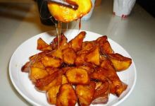 桂林美食图片-拔丝芋头