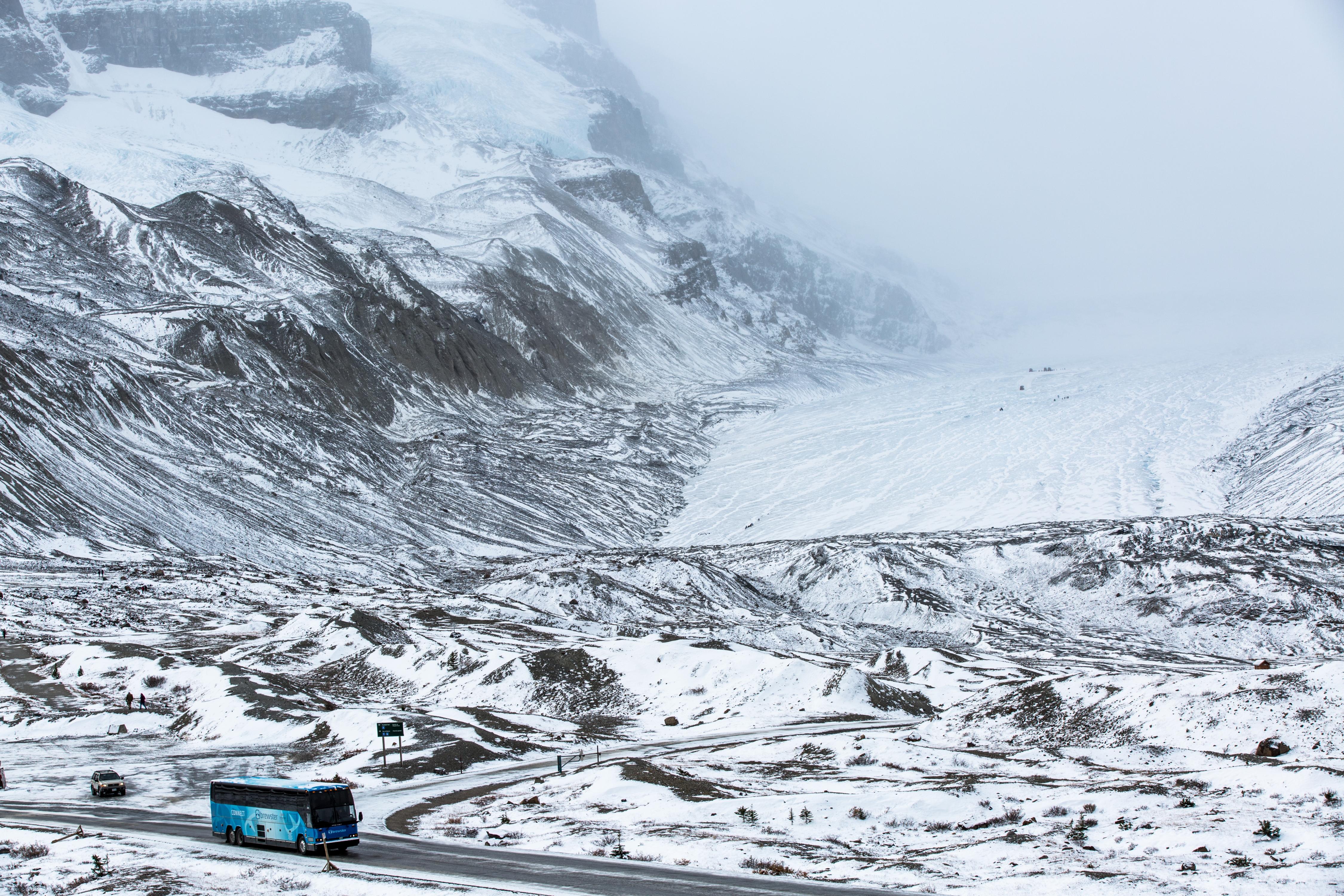 哥倫比亞冰原門票