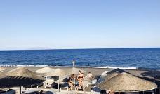 卡马利黑沙滩-圣托里尼-小小呆60