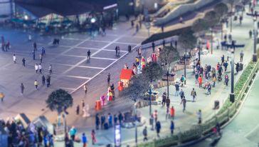 西安-钟鼓楼广场