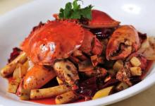 长岛美食图片-香辣蟹