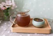张掖美食图片-杏皮茶