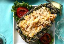 普吉岛美食图片-菠萝炒饭