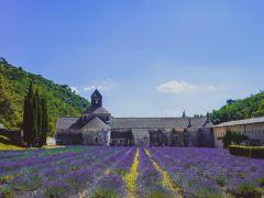 法国红土城+塞南克修道院+泉水镇+石头城一日游