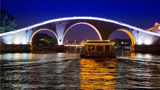 蘇州古運河遊船票【蘇州賞夜景】