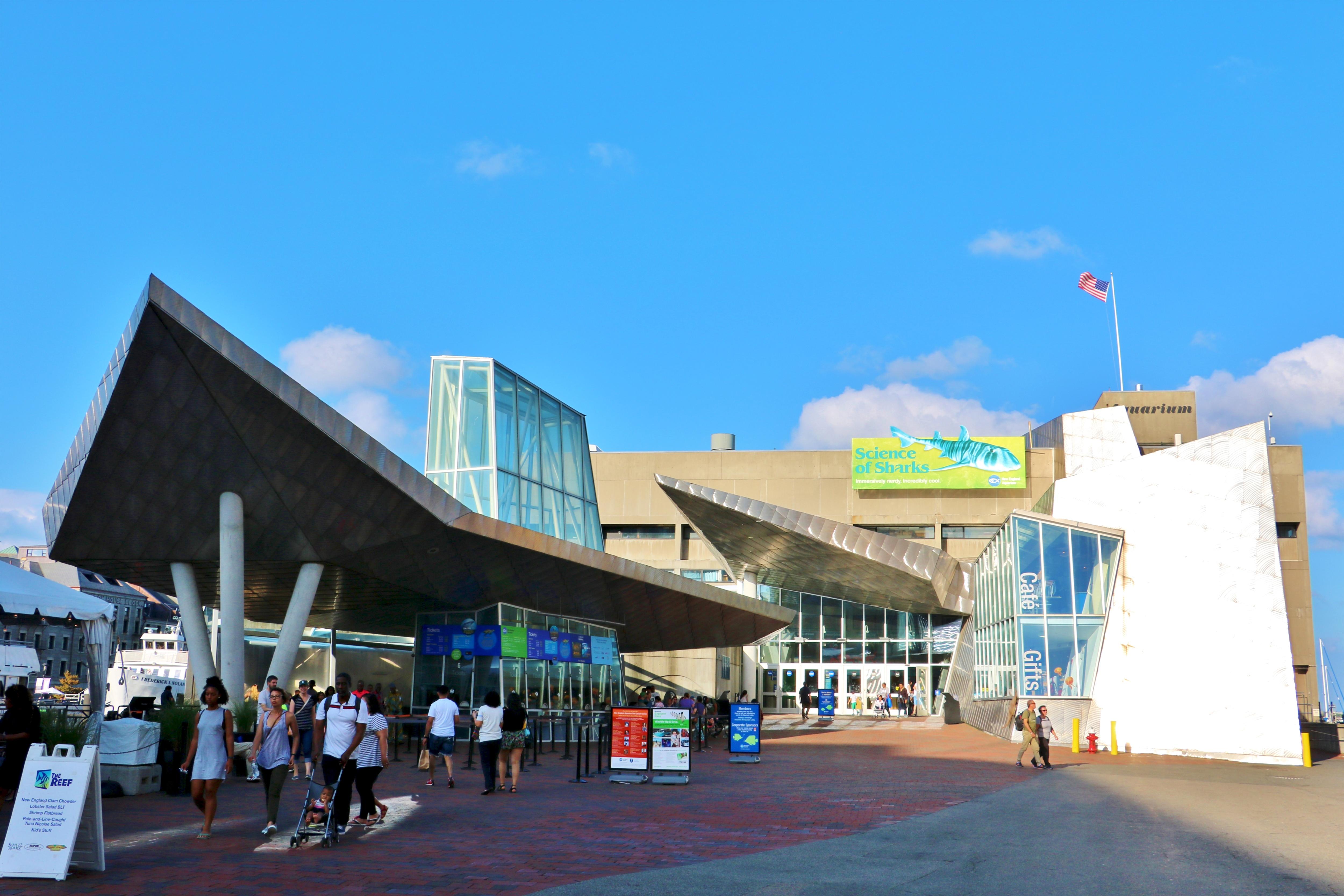 波士頓新英格蘭水族館門票/電影票