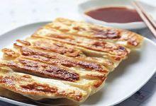 青岛美食图片-三鲜锅贴