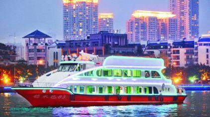 珠江夜游中大码头 (1)