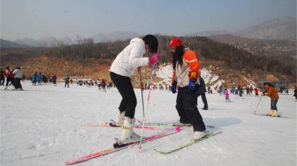 嵩山滑雪场  (1)