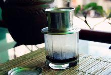 河内美食图片-滴漏咖啡