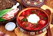 莫斯科美食图片-红菜汤