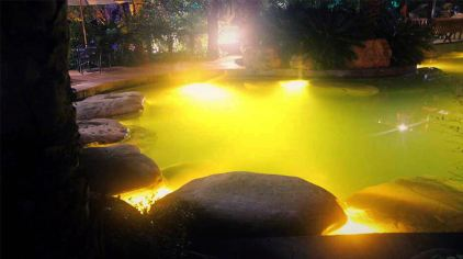 斗篷山温泉