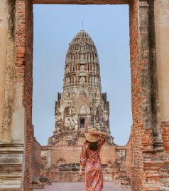 大城游记图文-第五次泰国,放慢脚步感受陨落的国都和王室度假海滨小镇
