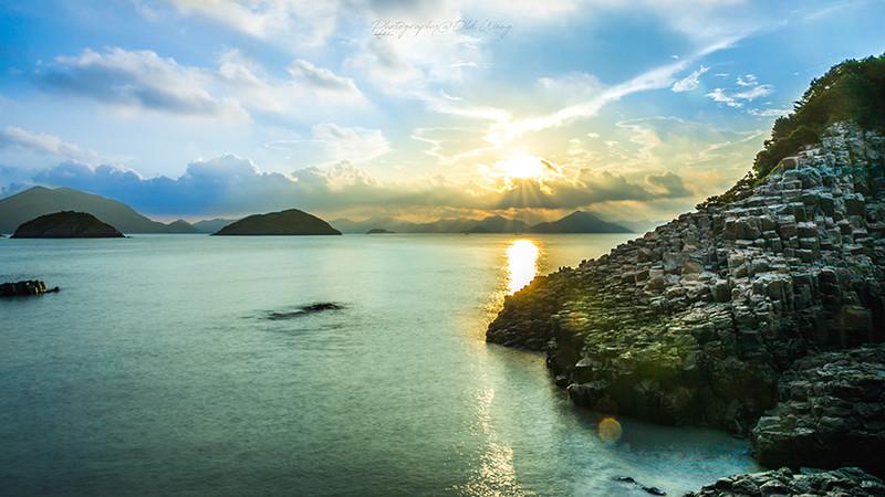 金色与蓝色的盛宴——东海石林 花岙岛 之视觉盛宴 (内附简易星空拍摄教学)