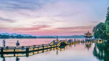 杭州-西湖-长桥公园1