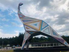 恐龙博物馆-胜山市-翱翔的大鲨鱼
