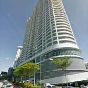 吉隆坡城中城無邊泳池 - 雷加利亞公寓