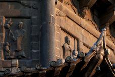 开元寺_开元寺东塔,石雕在夕阳中很漂亮。-大开元寺-泉州-荼蘼