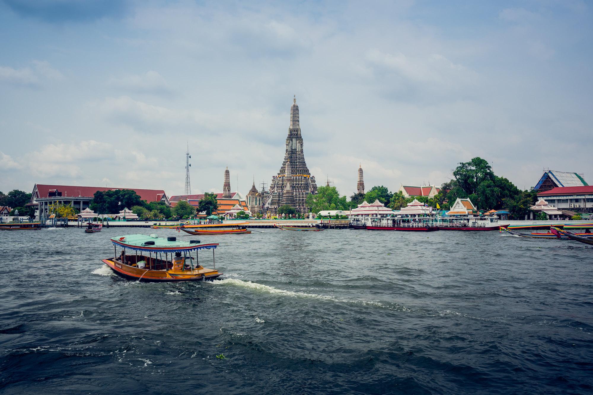 湄南河  Chao Phraya   -0