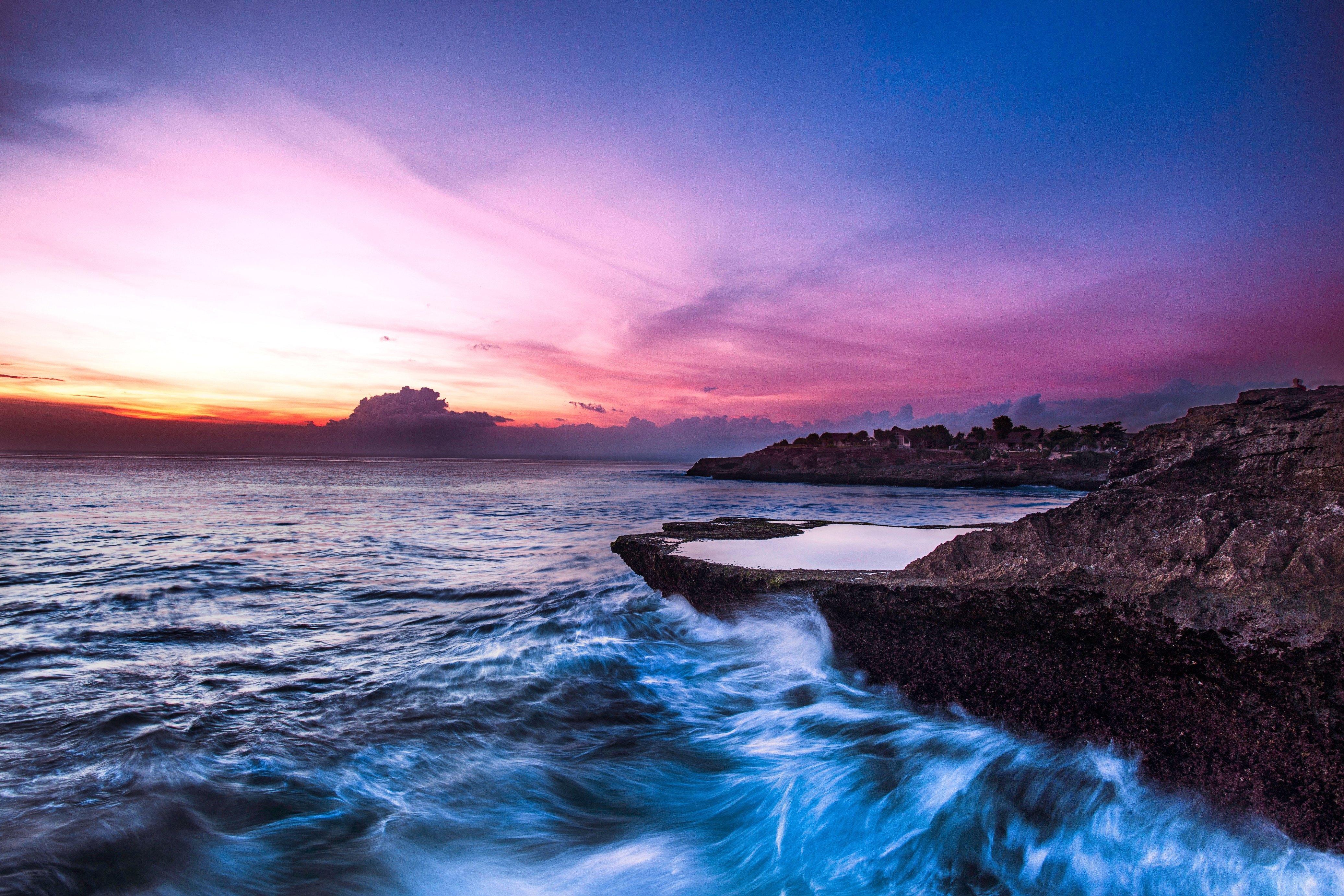 印度尼西亚巴厘岛+蓝梦岛7日5晚跟团游(5钻)·直飞+海边国5+喜来登下午茶+蓝梦岛海底漫步