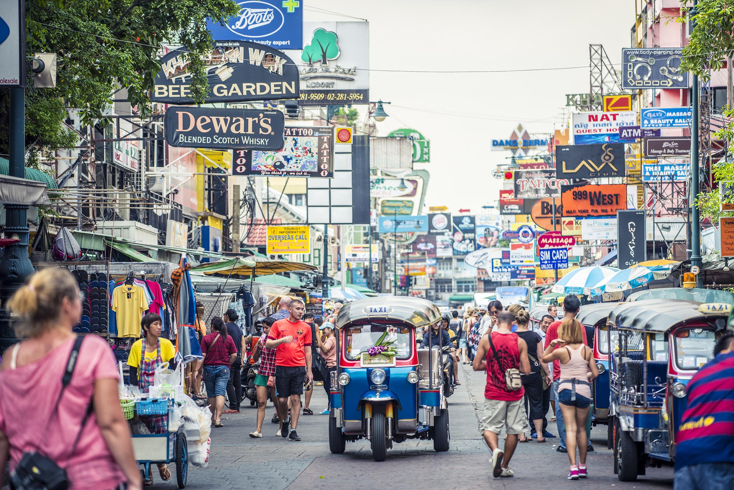 考山路  Khao San Road   -0