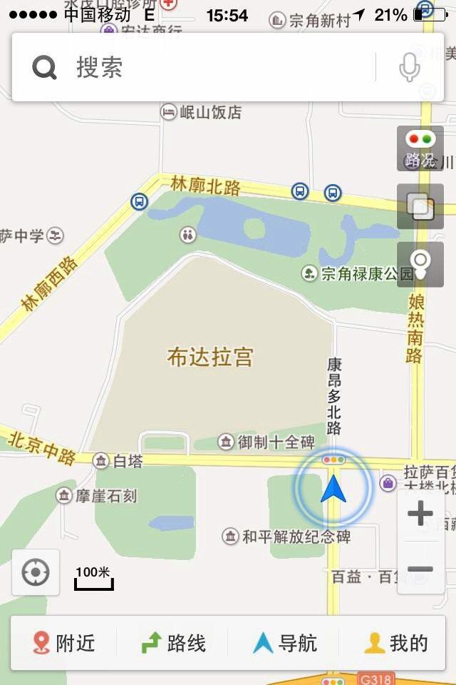 林芝八一镇地图_拉萨大昭寺的地图展示_地图分享
