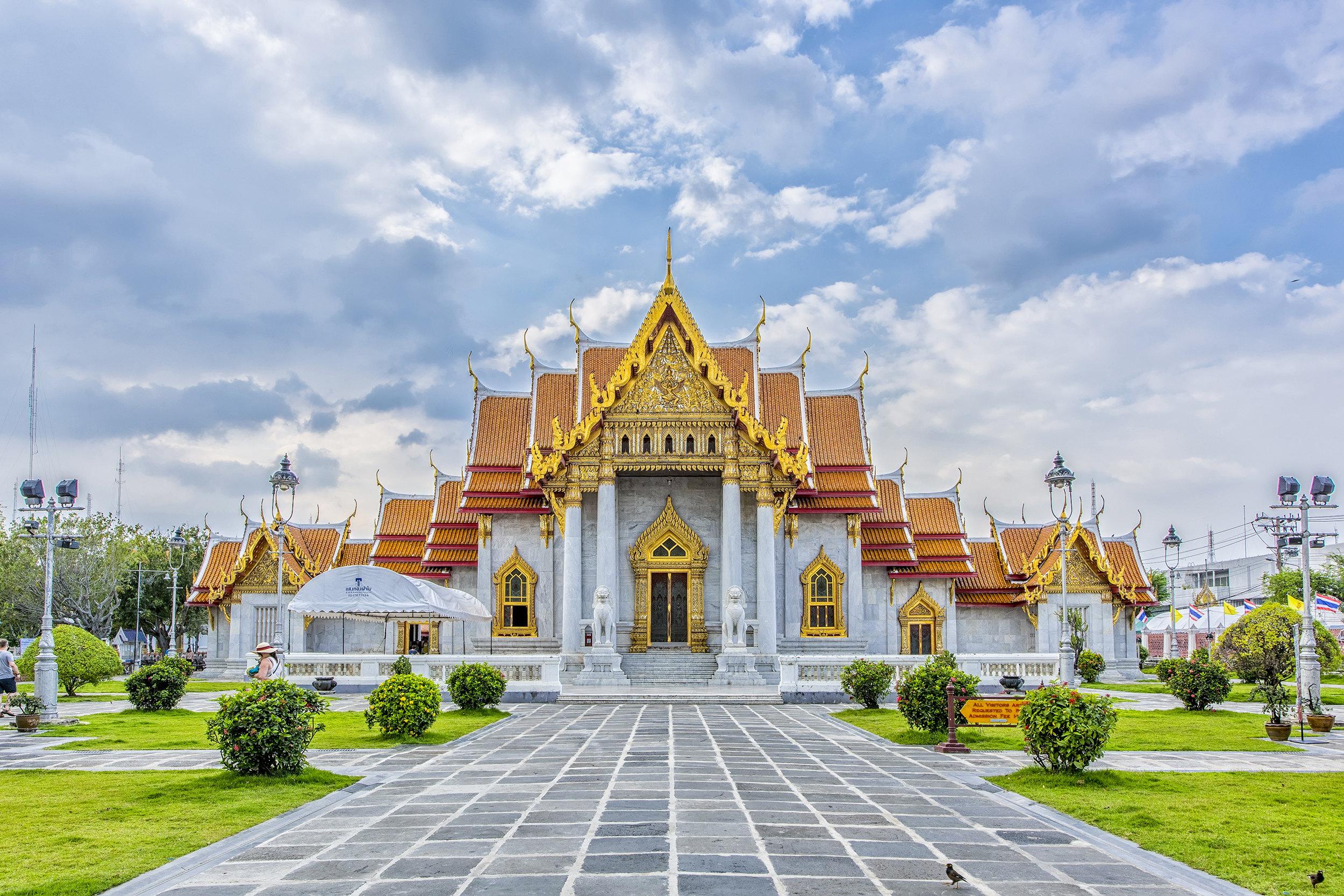云石寺  Wat Benchamabophit   -0