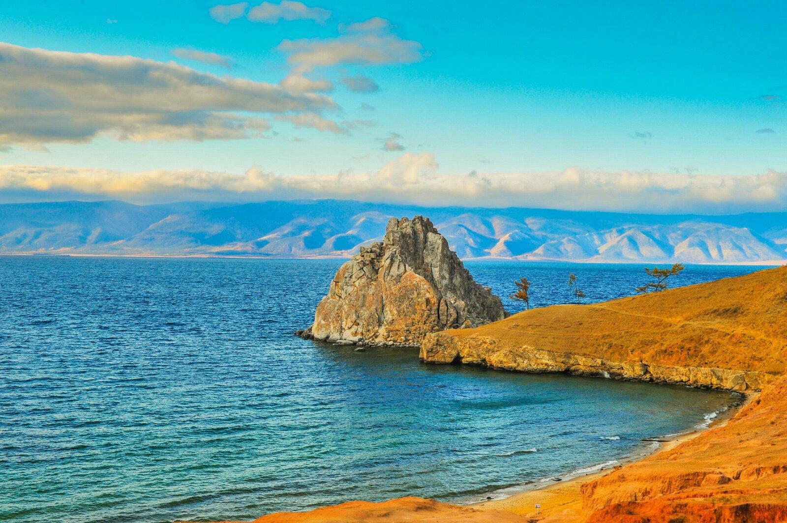 徜徉貝加爾湖畔 沉醉西伯利亞深秋圖片